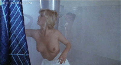 Several retro chicks showing it all in the shower